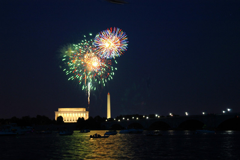 Washington Celebrates Independance Day